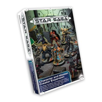 Star Saga Character and Mission Creator
