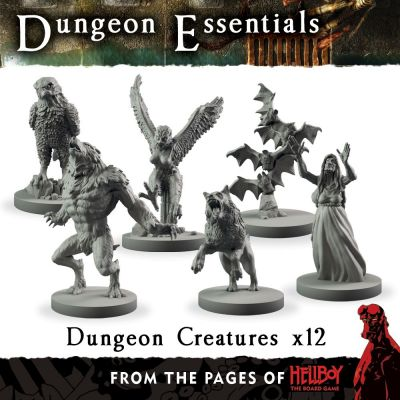 From the pages of Hellboy' Dungeon Creatures