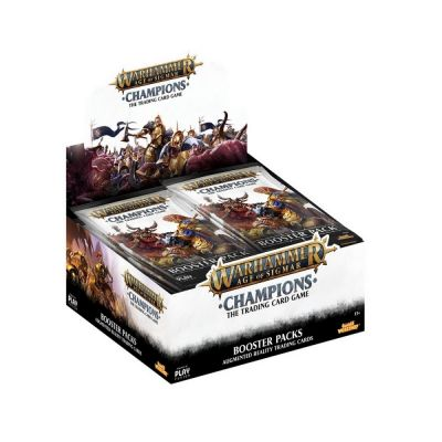 Warhammer Age of Sigmar: Champions Wave 1 Booster Box