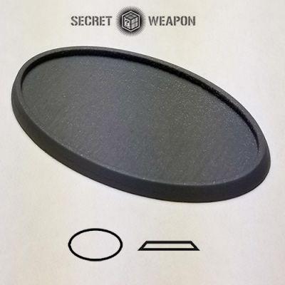 Beveled Edge: 105x70mm Hollow Blank