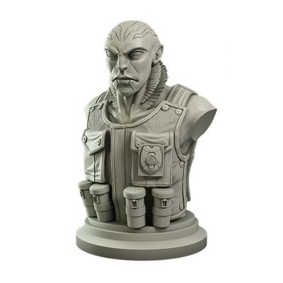 Abe Sapian Collector's Bust