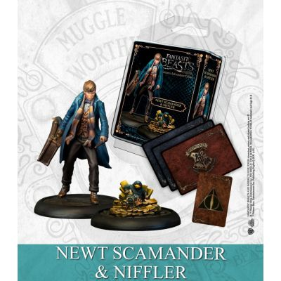 Newt Scamander & Niffler - Spanish