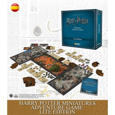 Harry Potter Miniatures Adventure Game Lite Edition - Spanish