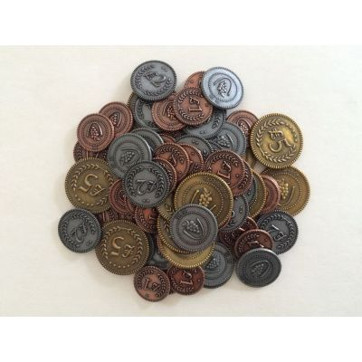 Metal Lira Coins: Viticulture