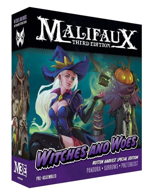 Witches and Woes Rotten Harvest - Pandora LTD