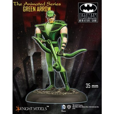 Animated Series Green Arrow - Metal