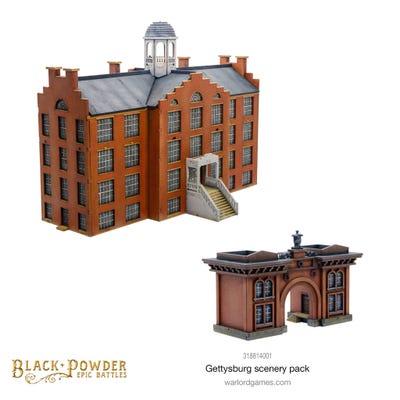 Black Powder Epic Battles: Gettysburg Scenery Pack