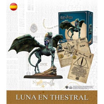 Luna on Thestral - Spanish