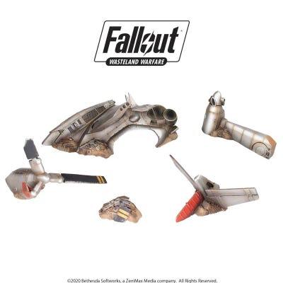 Fallout: Wasteland Warfare - Terrain Expansion: Crashed Vertibird