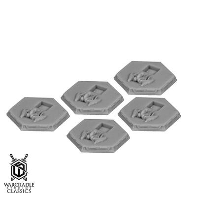Terquai Empire Bomber Tokens x5