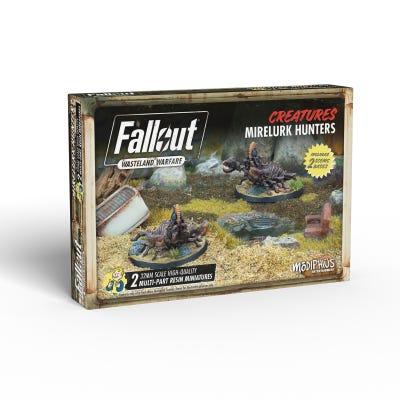 Fallout: Wasteland Warfare - Wasteland Creatures: Mirelurk Hunters