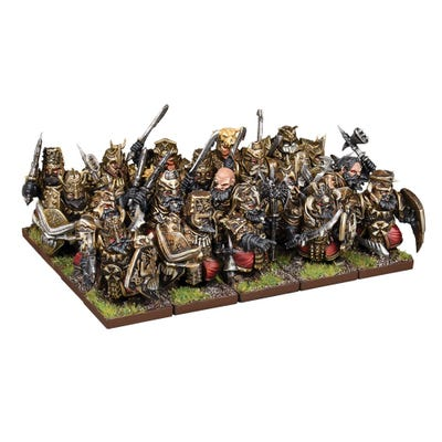Abyssal Dwarf Blacksouls Regiment