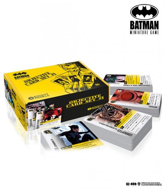 Batman Miniatures Game Objective Card Set 1