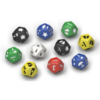 Fallout: Wasteland Warfare - Accessories: Extra Dice Set