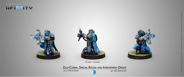 Zulu-Cobra, Special Recon and Intervention Group (Jammer)