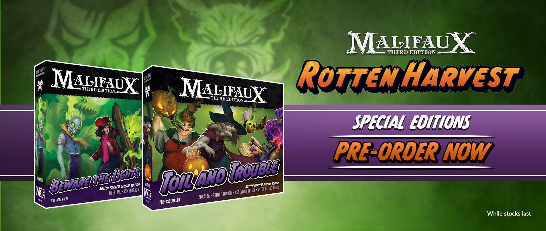 Malifaux - Rotten Harvest - Warcradle Distribution