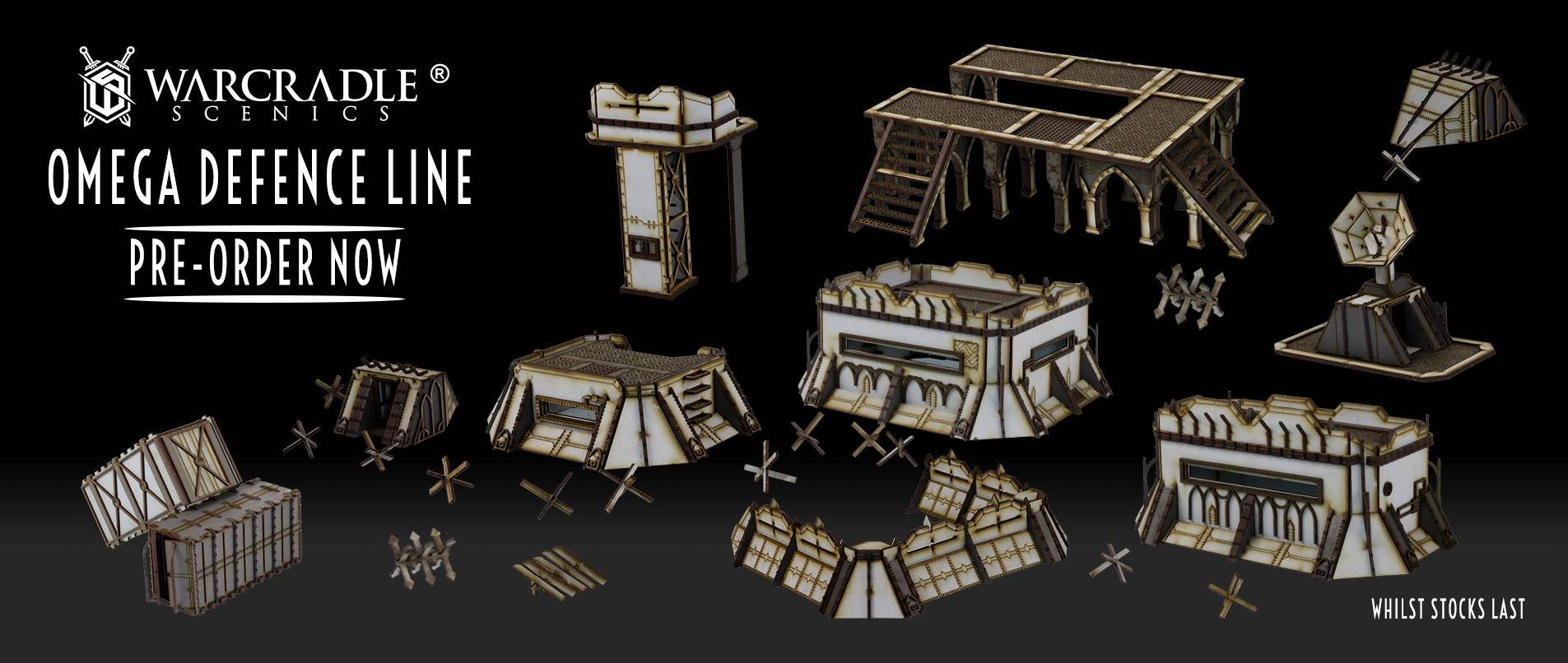 Omega Terrain Sets - Suppliers - Warcradle Distribution