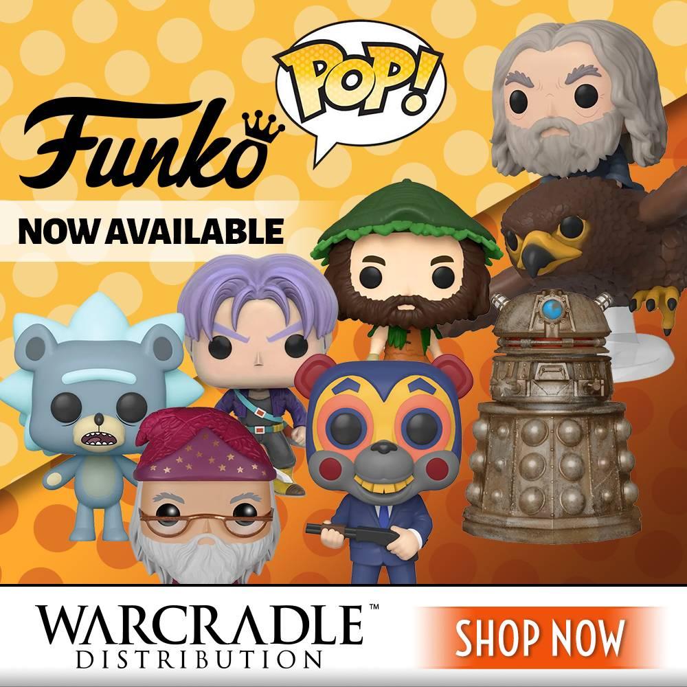 Funko pops - Warcradle Distribution