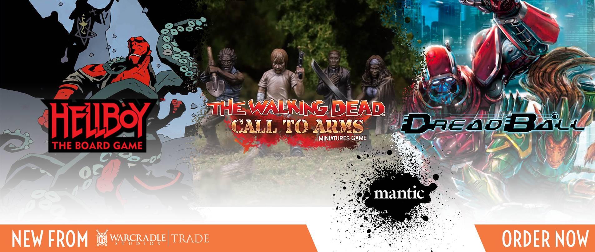 Mantic Games - Warcradle Distribution