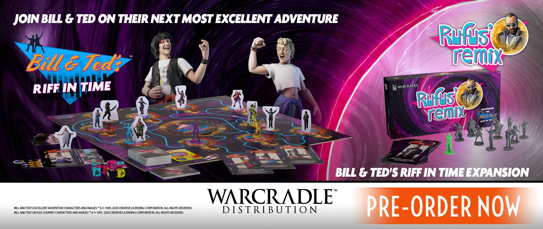 Bill & Ted - Board Games