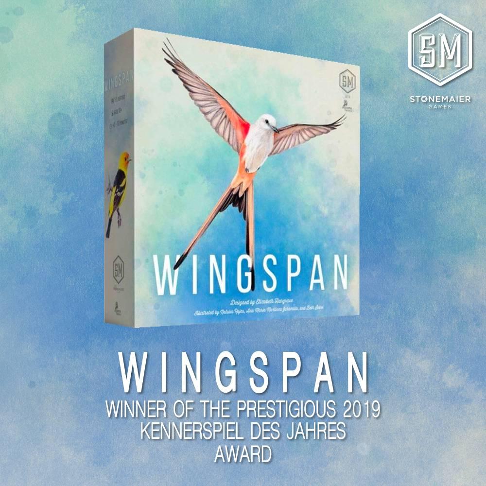 Wingspan Board Game - Warcradle Distribution - Stonemaier Games
