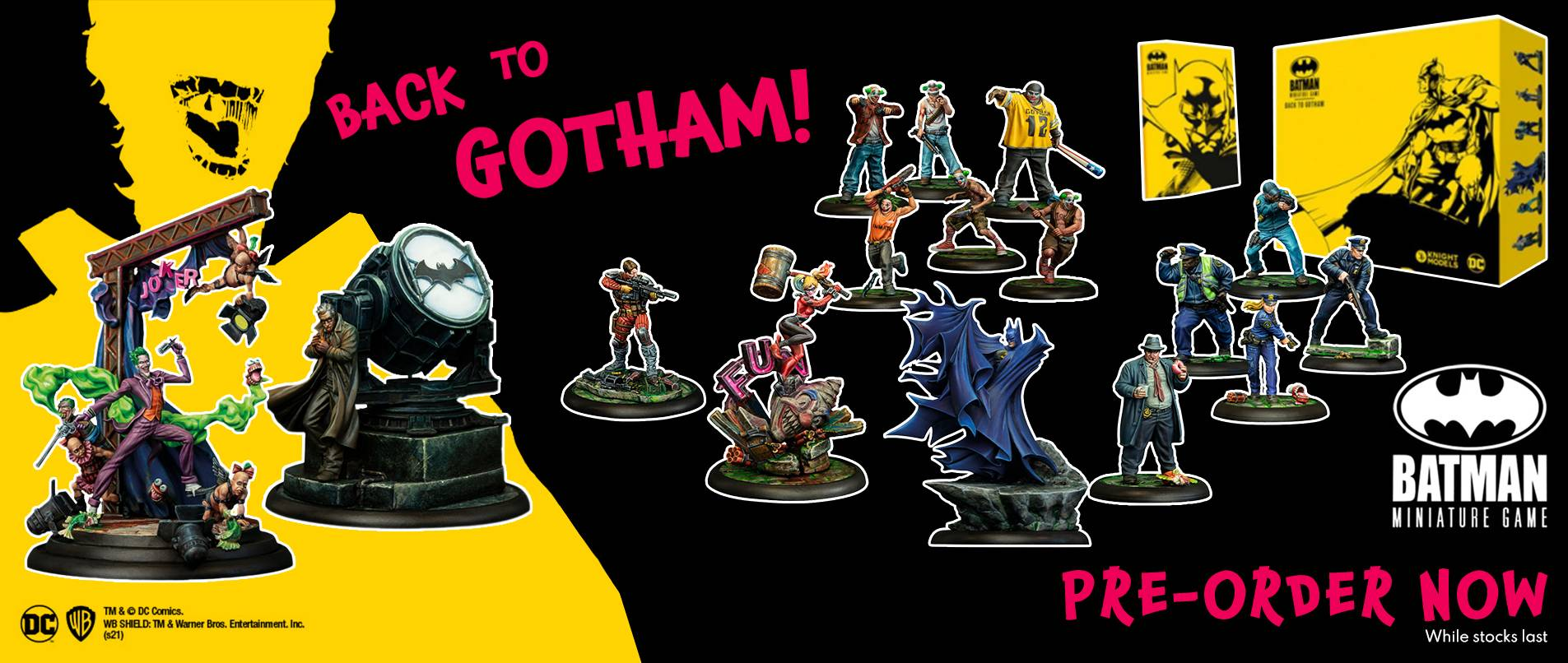 Batman - Knight Models - Warcradle Distribution
