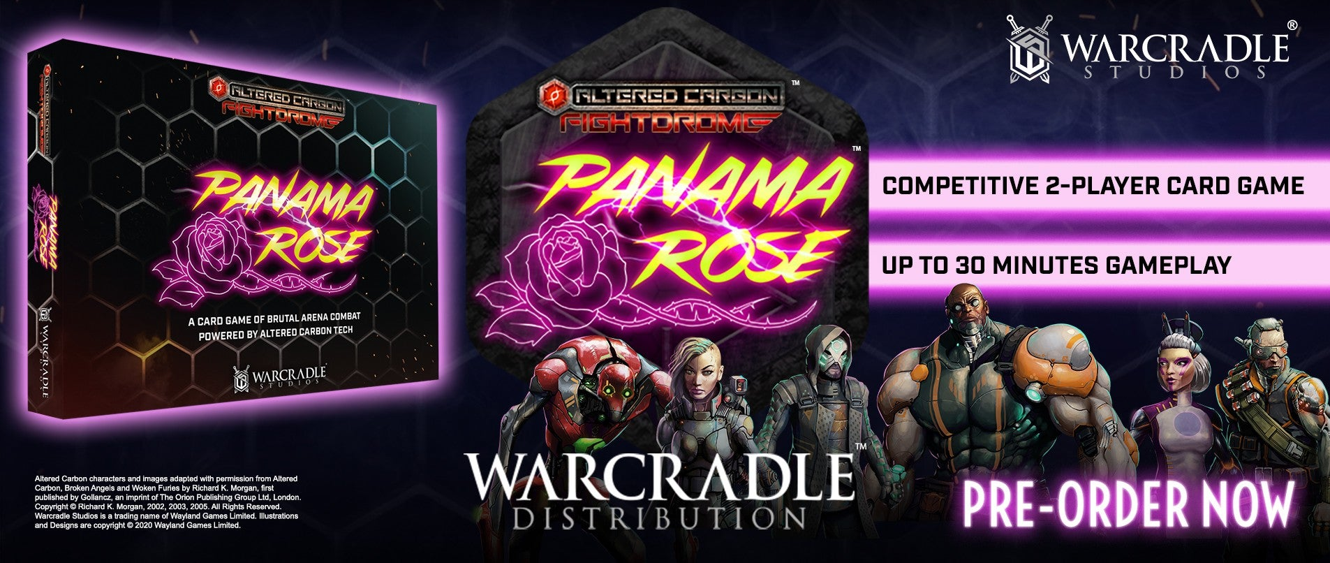 Warcradle Distribution - Altered Carbon: Fightdrome